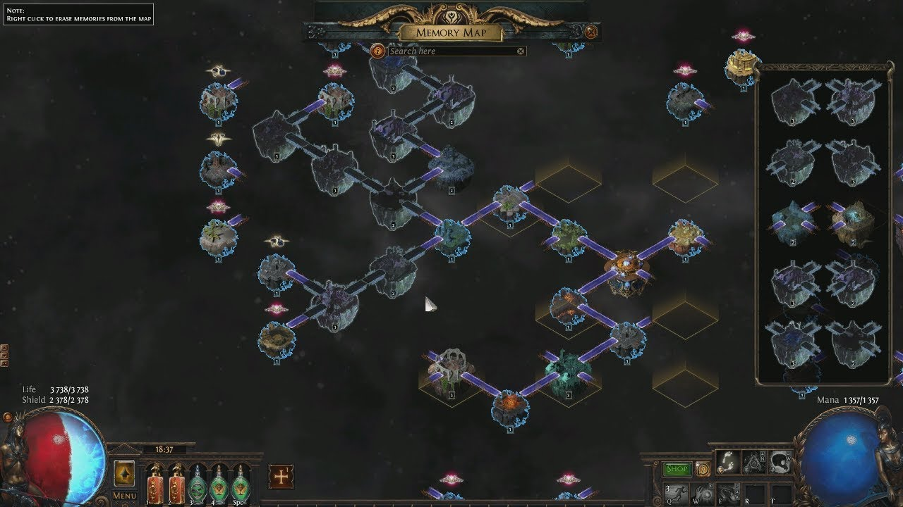 Frustration with Synthesis league  ES leech Soulrend build - Path of Exile  (3 6 Synthesis)