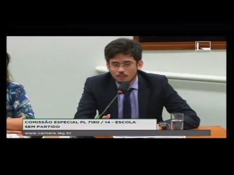 PL 7180/14 - ESCOLA SEM PARTIDO - Audiência Pública - 10/04/2018 - 15:54