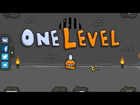 Быстрое прохождение игры - One Level: Стикмен побег из тюрьмы