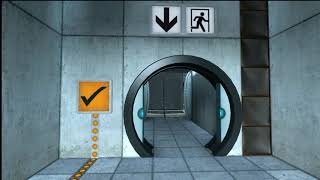 Portal 2 player 1 Blind fold Part 1
