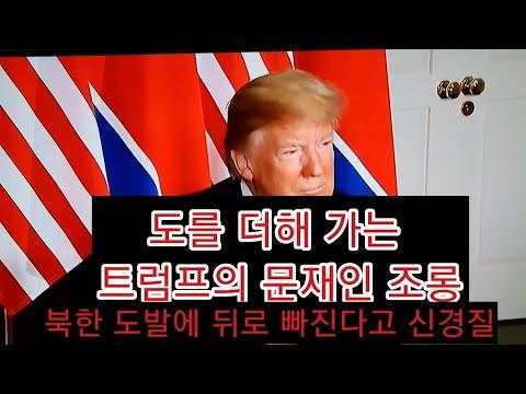 트럼프가 김정은과 아베를 추켜주고 문재인만 때리는 이유