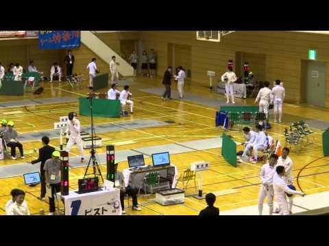 📺 【 東京国体 2013 】 フェンシング 東京優勝     スポーツ祭東京 2013