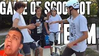 GAME OF SCOOT (TEAM) | PAUL X BAPISTE VS ERWAN X GEOFFREY