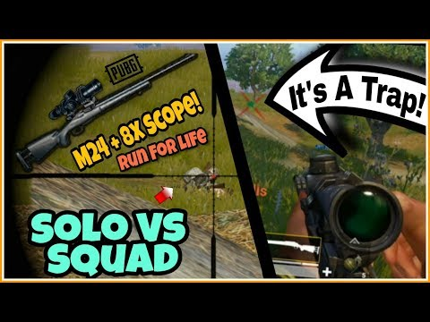M24 With 8x Scope Undefeatable Sniping | Stop Me If You Can! 16 Kills Chicken Dinner | Pubg Mobile!