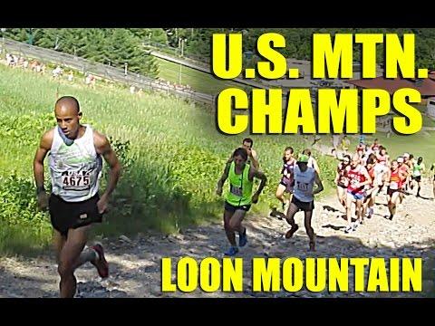 US Mountain Running Championships - Loon Mountain - Men's Race