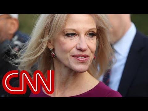 Conway breaks from Trump on media rhetoric