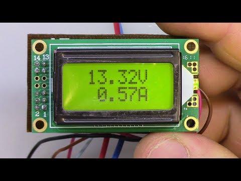 Вольтамперметр на Atmega8 своими руками