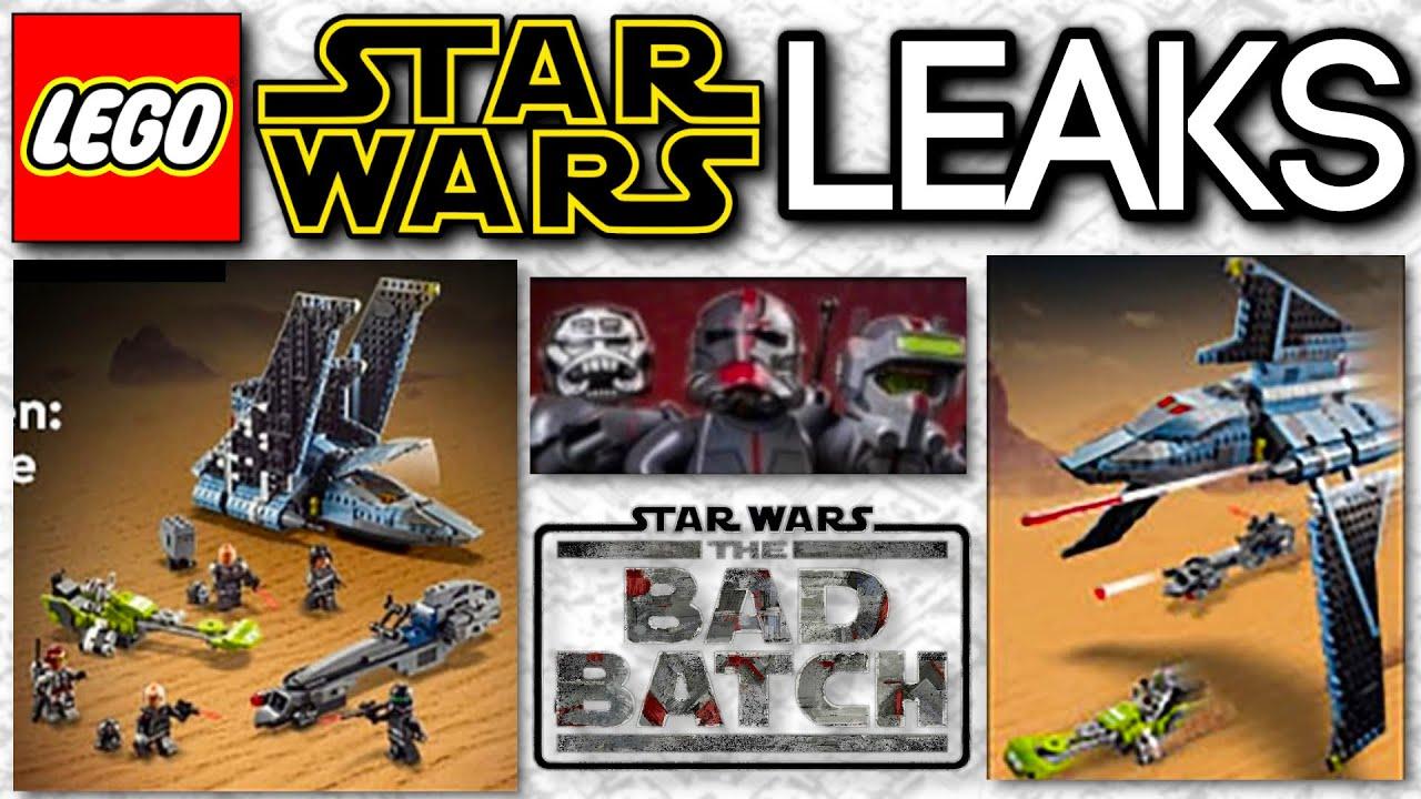 LEGO Star Wars The Bad Batch Shuttle ...