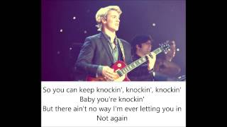 Freddie Stroma - Knockin Lyric Video