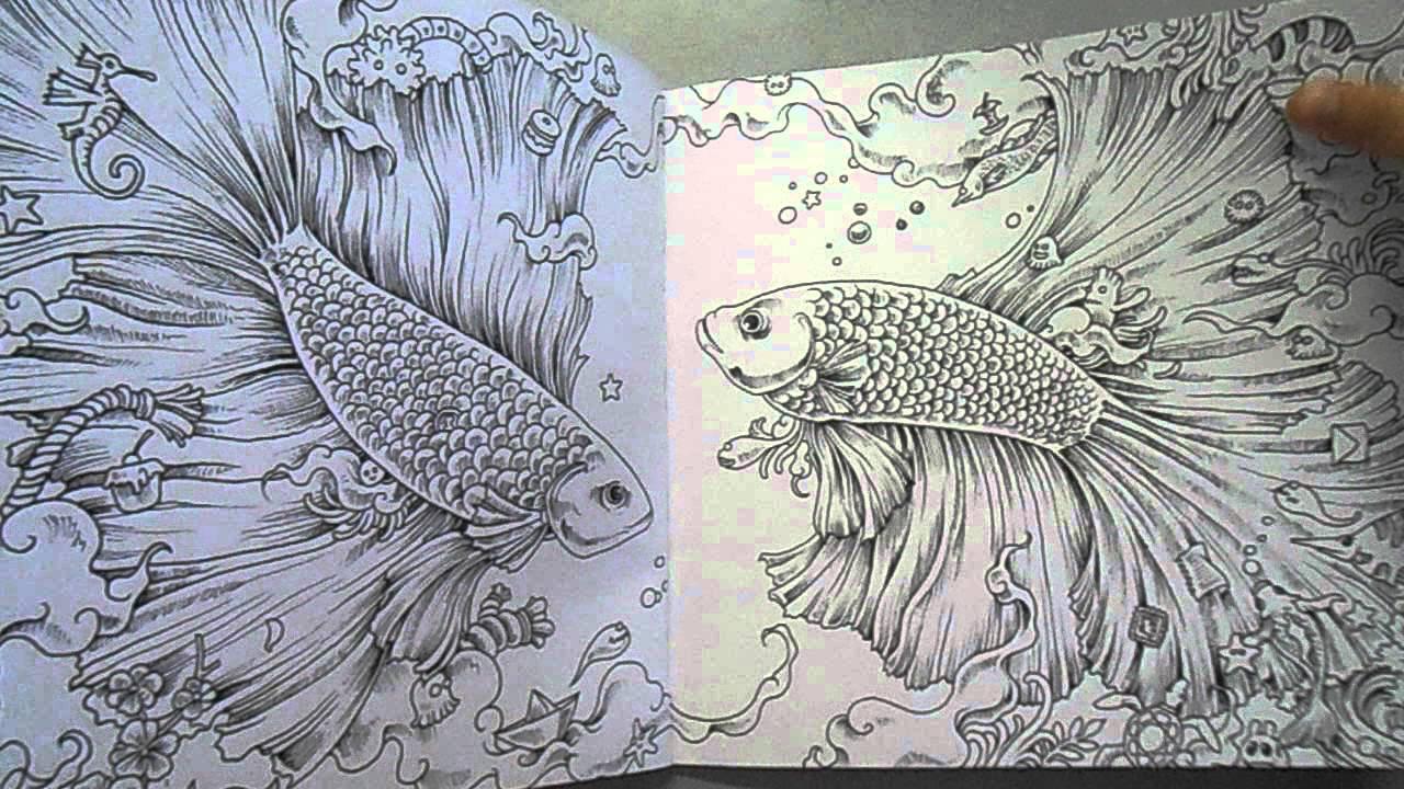 Animorphia Coloring Book Review Sach To Mau