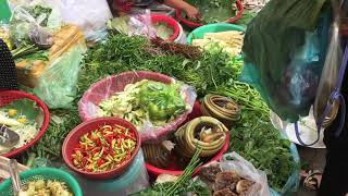 Market Street Food and Daily Life In Market || Morning Market In Cambodia.