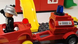 Fire Truck Toys,  Lego Duplo, Fireman , Fire Engine, Truck, Vehicles for Kids