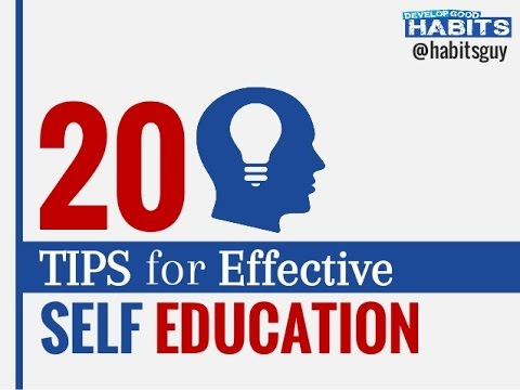 Tips for Self-Education