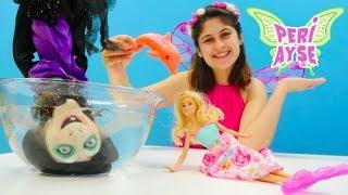 Peri Ayşe Barbie'yi denizkızı büyüsünden kurtarıyor!