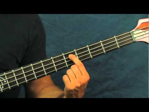 Easy Bass Guitar Lesson Run Through The Jungle Creedence Clearwater