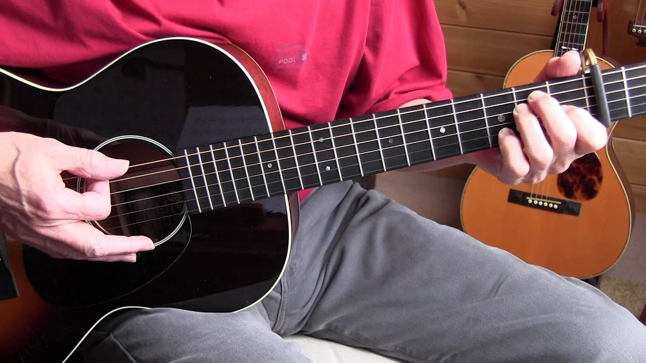 fingerpicking jazz lesson  quot walking my baby back home Words My Baby Words My Baby