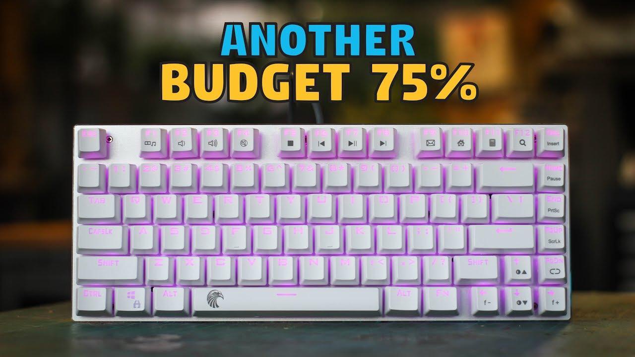 70f394b6d54 E-element Z88 81 Key Mechanical Keyboard - Unboxing & Review - YouTube