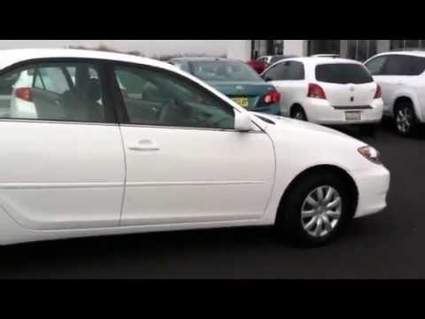 2006 white toyota camry le low miles 15 000 youtube. Black Bedroom Furniture Sets. Home Design Ideas