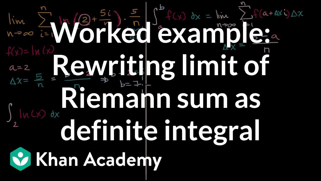 5.2 The Definite Integral - Calculus Volume 1   OpenStax
