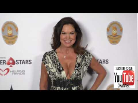 Paula Trickey at the Los Angeles Police Memorial Foundation Celebrity Poker Tournament at Avalon Nig