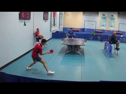 Westchester Table Tennis Center August Semi Final  Bottom Half of Draw