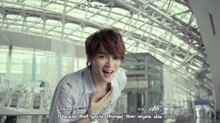 JYJ - Only One MV [eng + rom + hangul + karaoke sub]