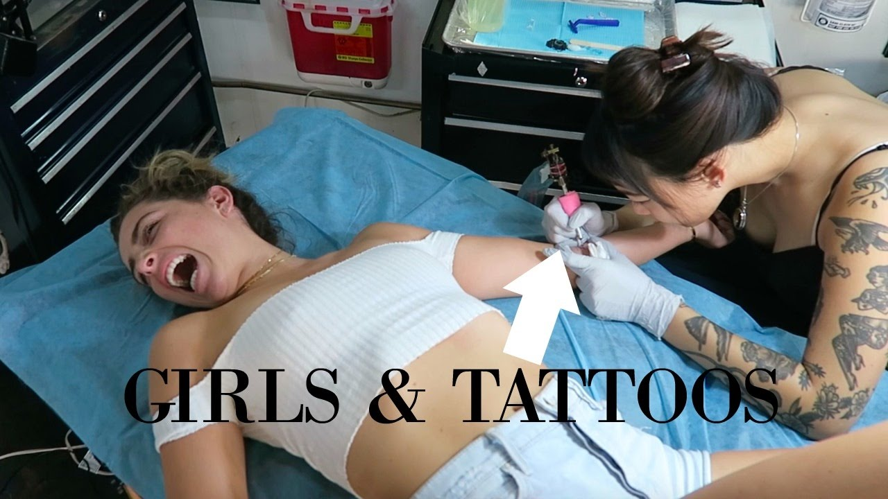 Girls getting tattoos on their the expert