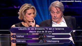 Qui Veut Gagner Des Millions - 03/02/2012 - Alain Delon et Sylvie Tellier