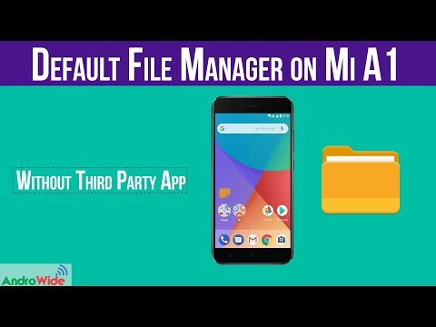 Solved: File Manager on Mi A1 | File Explorer 👆👆 | हिंदी