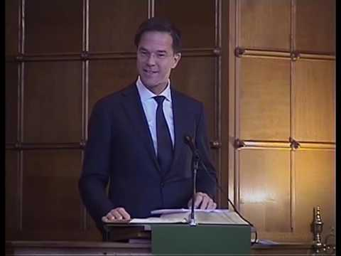 Preek van Mark Rutte in de Duinzichtkerk te Den Haag