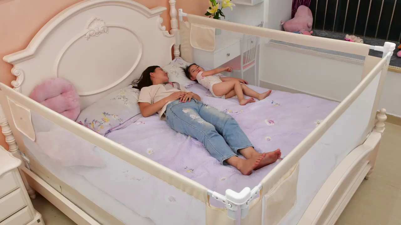 Baby Playpen Bed Safety Rails Barrier for Babies | Reviews ...
