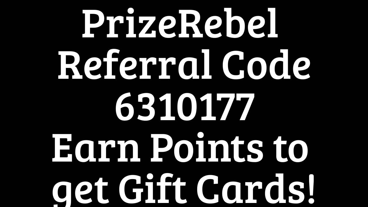 Prizerebel Promo Codes: Get Points - EverAfterGuide5/5(2).