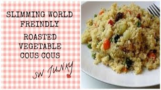 Slimming World Roasted Vegetable Cous Cous Recipe