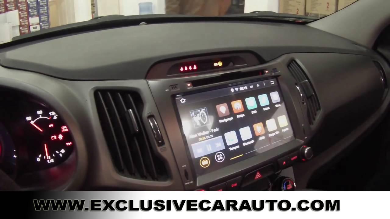"""8"""" Android 5.1 Radio DVD GPS QuadCore Kia Sportage 11-15 ..."""