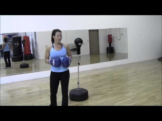 Reflex Bag Drill Beginners Cardio Routine For Weightloss Your Time Training With Melisa