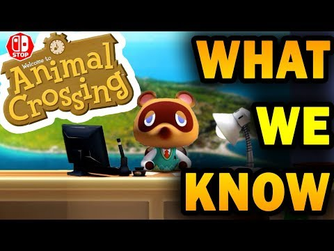 EVERYTHING We Know About Animal Crossing SWITCH!!! (Trailer Analysis and Theories)