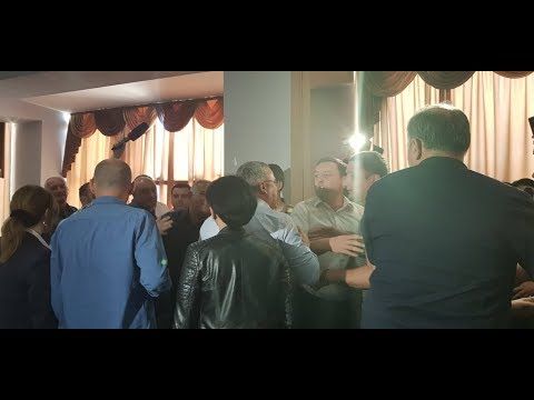 Sandra Roelofs in Zugdidi and incident in mayor office