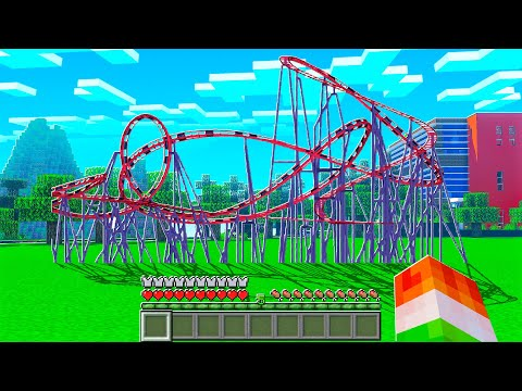 BUILDING AN ULTRA REALISTIC ROLLERCOASTER!