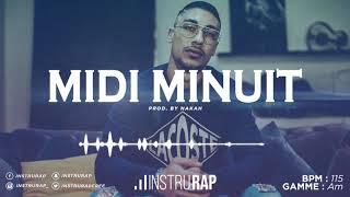 [FREE] Instru Rap Type MAES x NINHO | Instrumental Rap Trap/Guitare - MIDI MINUIT - Prod. By NAKAH