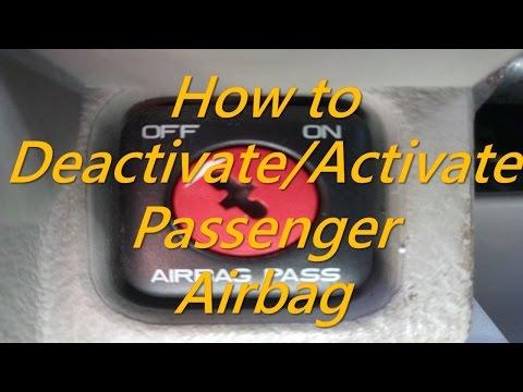 Citroen - How To Deactivate / Activate Passenger Airbag - How to Disable / Enable Airbag Citroen
