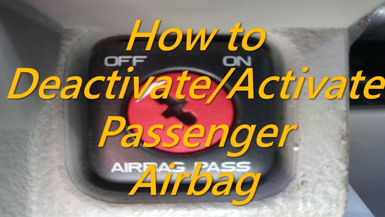 Citroen How To Deactivate Activate Penger Airbag Disable Enable