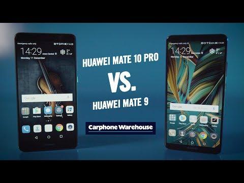 Huawei Mate 10 Pro Vs Mate 9