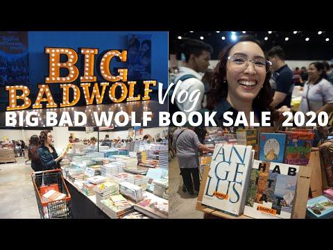 VLOG: BIG BAD WOLF BOOK SALE MANILA 2020 TOUR + HAUL - Shopping Experience #BBWManila2020