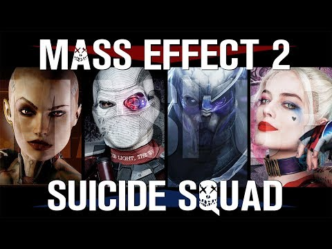Mass Effect 2, Suicide Squad, Отряд самоубийц, трейлер, movie trailer, FAN-MADE