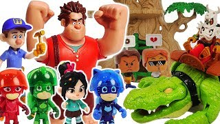 Disney Ralph Breaks The Internet! Go with PJ Masks to a dinosaur country in smartphone! #DuDuPopTOY