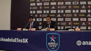 Anadolu Efes - Kızılyıldız Basın Toplantısı