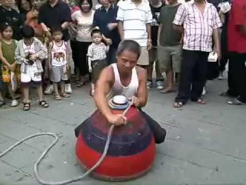 World's Biggest Spinning Top   Biggest Bongaram    Street Talent   Talentdunia