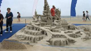 Virginia Beach Neptune Festival Amazing Sand Sculptures of 2009 and 2010