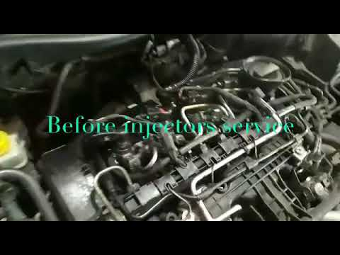 Volkswagen vento injector before and after service