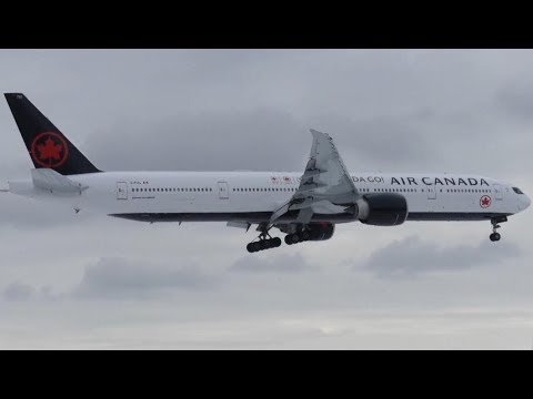 20+ Minutes of Plane Spotting - Montreal Trudeau Int'l Airport (YUL)